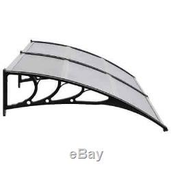 Door Canopy Awning Window Roof Front Sun Rain Shelter Cover Outdoor Porch Patio