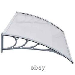 Door Canopy Awning Window Roof Sun Rain Shelter Cover Outdoor Door Porch Front