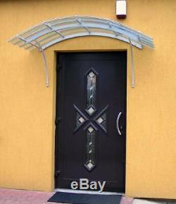 Door Canopy, European Quality With 10 Years Warranty On Materials