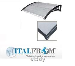 Door Canopy Front Back Porch Awning Transparent Shelter Garden Italfrom