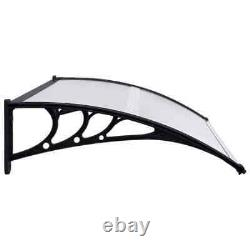 Door Canopy PC Porch Awning Rain Shelter Roof Multi Colours Multi Sizes ADLUK