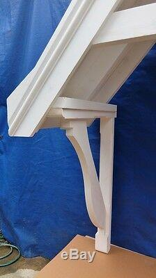 Door Canopy Porch Cover Awning Timber Wooden Gallows Bracket CAN3 2175x1915