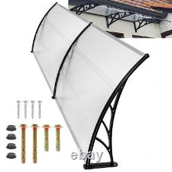 Door Canopy Roof Shelter Awning Shade Shop Porch Front Outdoor Patio Rain Cover