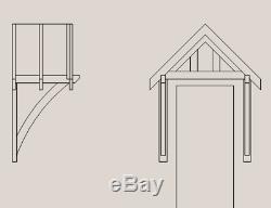 Door Canopy (softwood)