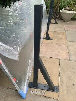 Door Porch Canopy Sorrento Glass size 2400 x 755 mm