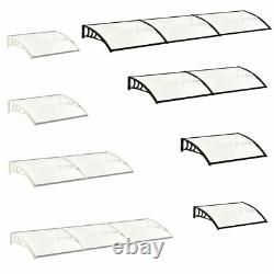 Door Window Canopy Awning Porch Sun Front Shade Shelter Outdoor Patio Rain Cover