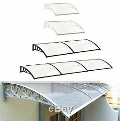 Door Window Canopy Awning Shade Outdoor Porch Patio Shelter Roof Rain Cover
