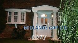 Felicia GRP Door Entrance Canopy and Columns Package. Porch Entrance Kit