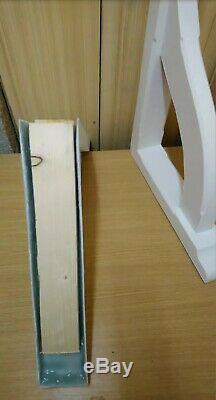 Fibreglass Front Door Canopy. Porch. Gallows Brackets