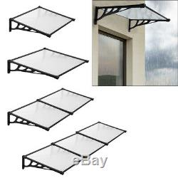 Flat Roofing Canopy Cover Door Window Shelter Outdoor Garden Patio Porch Awning