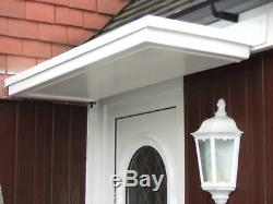 Flat Top Driproll Grp Front Door Canopy /porch/rain Shelter Only £140