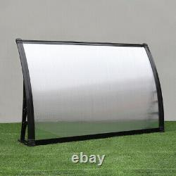 Front Back Patio Roof Door Canopy Awning Rain Shelter Porch Outdoor Shade 4-Size