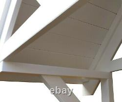 Front Door Apex Canopy Roof / Wooden Bespoke Porch / Timber Awning Shelter