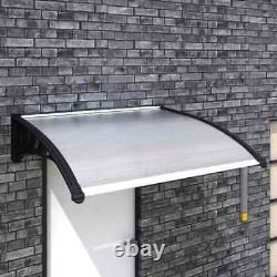 Front Door Canopy Awning Roof Shelter Porch Outdoor Patio Rain Cover Protector