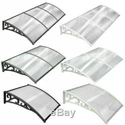Front Door Canopy Awning Sun Rain Cover Outdoor Back Patio Porch Shade Shelter
