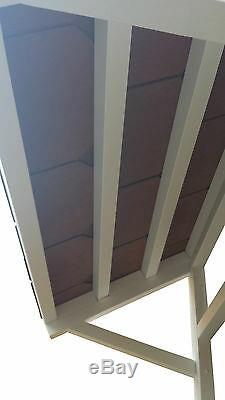 Front Door Canopy Lean to Porch Tiled Shelter Cover Roof + Slate Effect Tiles