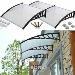 Front door canopy porch rain protector awning lean to roof shelter Shade Cover