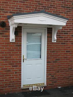 GRP Fibreglass Door Porch Canopy Colemere Edition
