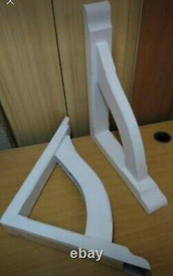 GRP Fibreglass Door canopy Brackets Porch Gallows brackets