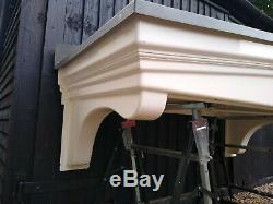 GRP canopy large door porch New old stock lead effect diy building RRP £