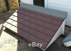 GRP canopy large door porch New old stock peg tile effect diy building RRP £