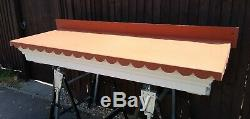 GRP canopy large door shop porch New old stock effect diy building EXDISPLAY
