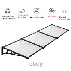 Garden Canopy Awning Shelter Door Porch Rain Cover Outdoor Patio Roof Cafe Home