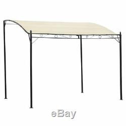 Garden Gazebo Awning Canopy Sun Shade Marquee Shelter Door Porch with Steel Frame