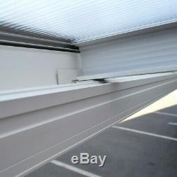 Garden Patio Door Canopy Terrace Polycarbonate Roofing Sheefs Porch Pergola