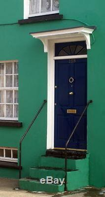 Georgian Style Grp Door Canopy/porch Plus Curved Grp Fits Single Door