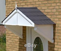 Highgrove Canopy Rain shade Sun Shelter cover front door porch DIY awning strong