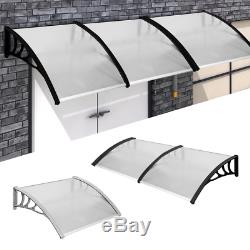 Kct Outdoor Porch Canopy Awning Weather Rain Shelter Window Patio Shade