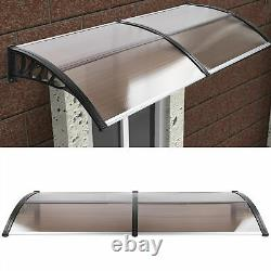 Large Door Canopy Awning Front Back Outdoor Porch Patio Window Roof Rain Shelter