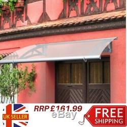 Large Door Canopy Awning Shelter Front Back Porch Outdoor Sun Shade Patio Roof