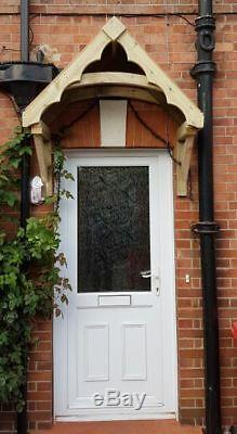Large Scalloped Edged Front Porch Canopy Door Canopy