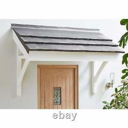 Liberty Doors Apex Front Door Pine Porch Canopy + Gallows Brackets (1736mm)