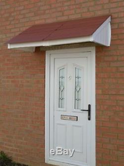 Mayfair Canopy Door Rain Shelter Sun Shade cover front porch easy DIY build size