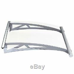 Modern Porch Awning Front Back Door Window Shelter Sunshade Canopy Rain Cover
