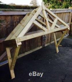 New 1500mm wooden canopy porch