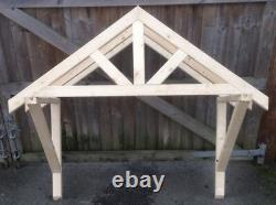 New 1500mm wooden canopy porch Treated