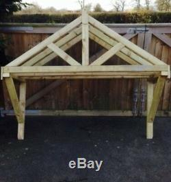 New 2000mm wooden canopy porch