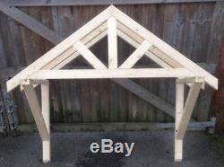 New 2100mm wooden canopy porch Untreated