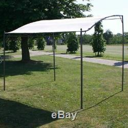 New Garden Gazebo Awning Canopy Sun Shade Marquee Shelter Door Porch Steel Frame