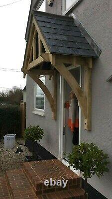 Oak Door Canopy