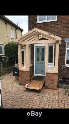 Oak Porch Door Canopy