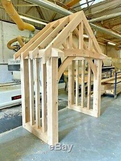 Oak Porch, Doorway, Oak Wooden porch, Oak CANOPY, Entrance, Self build kit, Oak