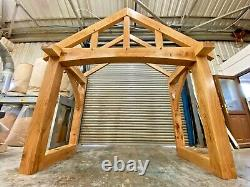 Oak Porch, Doorway, Wooden porch, CANOPY, Entrance -Item In Stock for collection