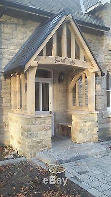 Oak Porch, Doorway, Wooden porch, CANOPY, Entrance, Self build kit