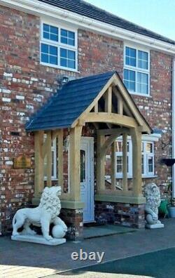 Oak Porch, Doorway, Wooden porch, CANOPY, Entrance, Self build kit, porch