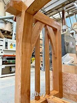 Oak Porch, Doorway, Wooden porch, Door CANOPY, Entrance, Self build kit